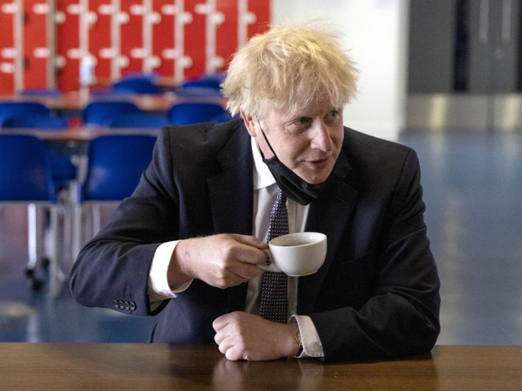 Prime Minister Boris Johnson has sought to deflect attention from a series of controversies swirling around him (Dan Kitwood/PA)