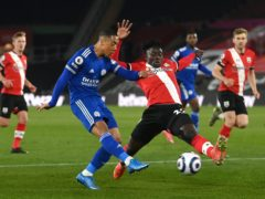 Youri Tielemans (left) and Leicester endured a frustrating evening at Southampton (Neil Hall/PA)