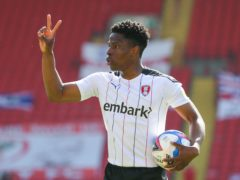 Rotherham's Chiedozie Ogbene has received a first call-up to the Republic of Ireland squad (Isaac Parkin/PA)