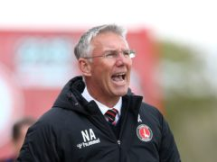 Charlton manager Nigel Adkins (Barrington Coombs/PA)