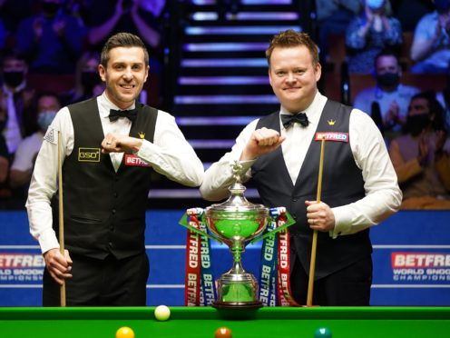 Shaun Murphy established an early lead over Mark Selby (Zac Goodwin/PA)