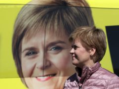 Pollsters have said an SNP majority 'hangs in the balance' on Thursday (Russell Cheyne/PA)