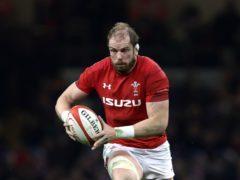 Alun Wyn Jones has been named British and Irish Lions captain (David Davies/PA)