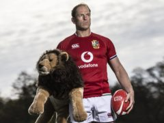 Lions captain Alun Wyn Jones is among the players to be vaccinated (PA)