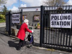Thames Valley Police said it was looking into the circumstances surrounding the election (Danny Lawson/PA)