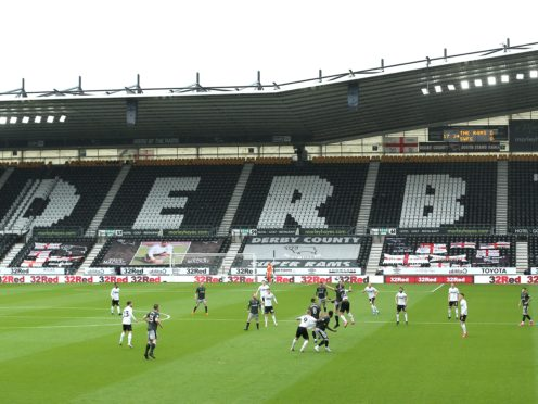 Derby face sanctions for accountancy breaches (Nigel French/PA)