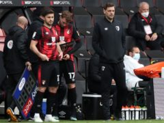 Jonathan Woodgate, right, insists Bournemouth will go into the play-offs with confidence (Kieran Cleeves/PA)