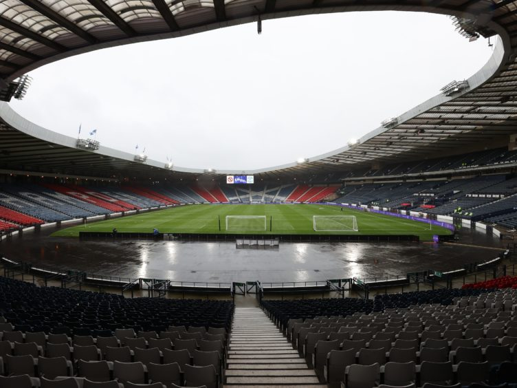 The Scottish Cup Final is taking place at Hampden on Saturday (Jeff Holmes/PA)