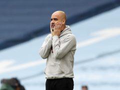 Pep Guardiola's Manchester City lost to Chelsea on Saturday night (Martin Rickett/PA)