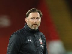 Ralph Hasenhuttl's Southampton are on the brink of Premier League survival (Phil Noble/PA)