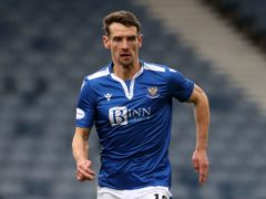 Craig Bryson is delighted with St Johnstone's cup double (Andrew Milligan/PA)