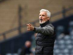 Jim Goodwin wanted a cup win this season (Andrew Milligan/PA)