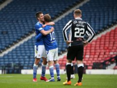 St Mirren suffered Hampden heartache (Andrew Milligan/PA)