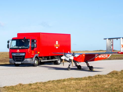Royal Mail is expected to report profits in excess of £700m. (Royal Mail / PA)