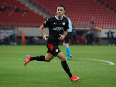 PSV's Eran Zahavi (Thanassis Stavrakis/AP)