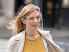 Rachel Riley arrives at the Royal Courts of Justice in London (Dominic Lipinski/PA)