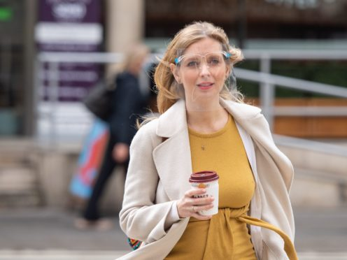 Rachel Riley arrives at the Royal Courts of Justice (Dominic Lipinski/PA)