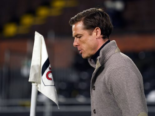 Scott Parker dismissed questions about his future at Fulham after they were relegated from the Premier League (Adam Davy/PA)