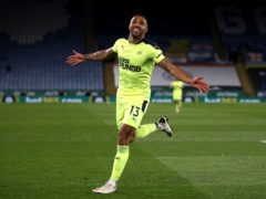 Newcastle striker Callum Wilson is ruled out of Friday night's Premier League clash with Manchester City (Nick Potts/PA)