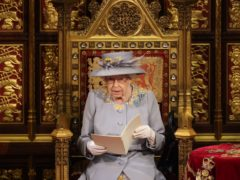 The Queen delivers the speech from the throne in House of Lords (Chris Jackson/PA)