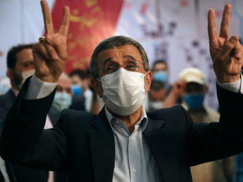 Former Iranian president Mahmoud Ahmadinejad (AP)