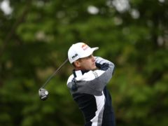 Austria's Matthias Schwab held a one-shot lead after the first round of the Betfred British Masters (Tim Goode/PA)