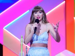 Taylor Swift, Dua Lipa and The Weeknd were among the winners at the iHeartRadio Music Awards (Ian West/PA)