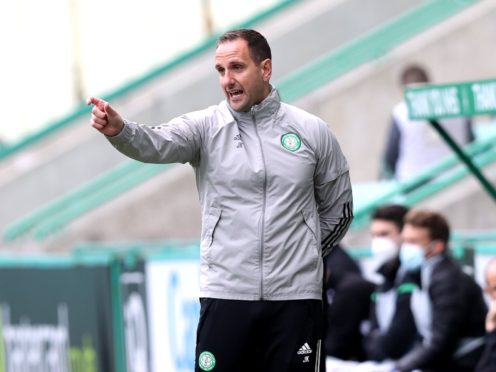 John Kennedy says Celtic need to draw a line under this season (Jeff Holmes/PA)