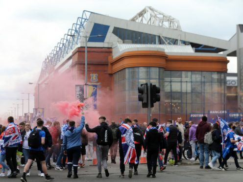 Rangers are looking to increase the capacity at Ibrox (Robert Perry/PA)