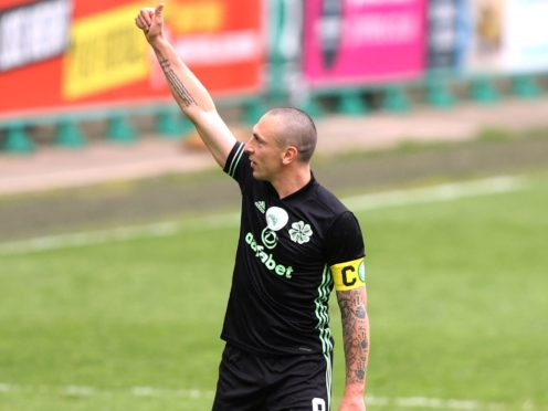 Scott Brown has played his final game for Celtic (Jeff Holmes/PA).