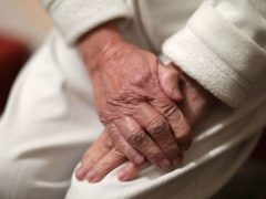 An elderly woman's hands. The Prime Minister's former chief adviser Dominic Cummings has said people were knowingly discharged to care homes with Covid-19. (Yui Mok/PA)