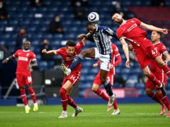 Semi Ajayi reported he had been the target of racist abuse soon after West Brom's Premier League defeat to Liverpool (Laurence Griffiths/PA)