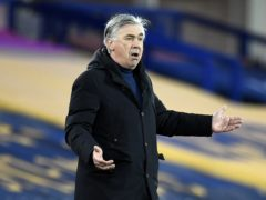 Carlo Ancelotti's Everton lost 1-0 at home to Sheffield United on Sunday (Peter Powell/PA)