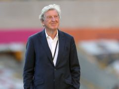 Roy Hodgson will leave Crystal Palace at the end of the season (Martin Rickett/NMC Pool/PA)