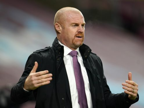 Sean Dyche is expecting to hold talks on a new Burnley deal amid links to Crystal Palace (Jon Super/PA)