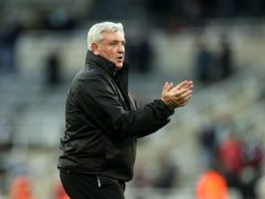 Newcastle head coach Steve Bruce is targeting a winning end to a difficult season (Carl Recine/PA)