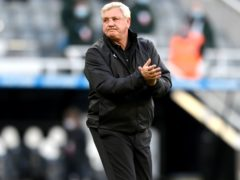 Newcastle head coach Steve Bruce was booed by some fans during a lap of appreciation (Stu Forster/PA)