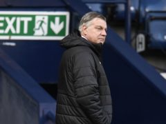 Sam Allardyce will leave West Brom after Sunday's game with Leeds (Peter Powell/PA)