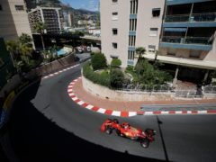 Charles Leclerc finished fastest for Ferrari (AP/Luca Bruno)