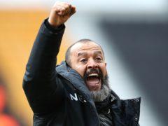 Nuno Espirito Santo will leave Wolves at the end of the season. (Nick Potts/PA)