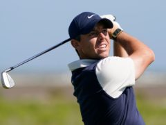 Rory McIlroy struggled in his third round of the US PGA at Kiawah Island (Chris Carlson/AP)