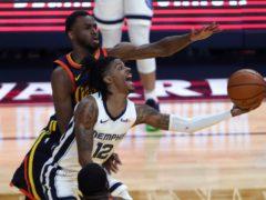Memphis Grizzlies' Ja Morant (Jed Jacobsohn/AP)