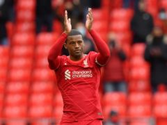 Georginio Wijnaldum's only regret at leaving Liverpool is he did not sign off with a trophy (Paul Ellis/PA)