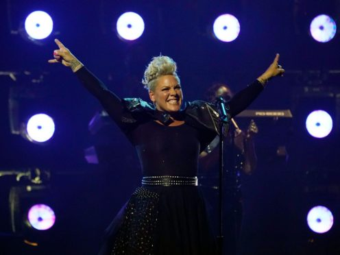 Pop star P!nk performed a medley of her biggest hits as she accepted the Billboard icon award (Chris Pizzello/AP)