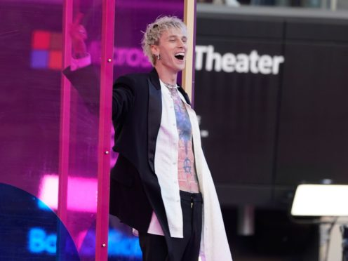 Machine Gun Kelly was among the winners at the Billboard Music Awards (Chris Pizzello/AP)