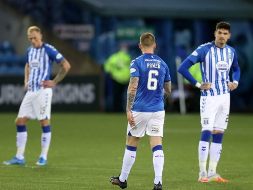 Kilmarnock have been relegated after 28 years in Scotland's top flight (Jeff Holmes/PA)