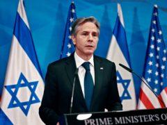 US secretary of state Anthony Blinken (Menahem Kahana/Pool Photo via AP)