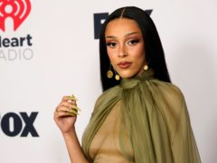 Doja Cat, Megan Fox and Demi Lovato were among the stars hitting the red carpet for the iHeartRadio Music Awards (Chris Pizzello/AP)