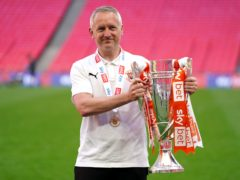 Blackpool manager Neil Critchley says earning promotion with Blackpool justified his decision to leave Liverpool (Zac Goodwin/PA)