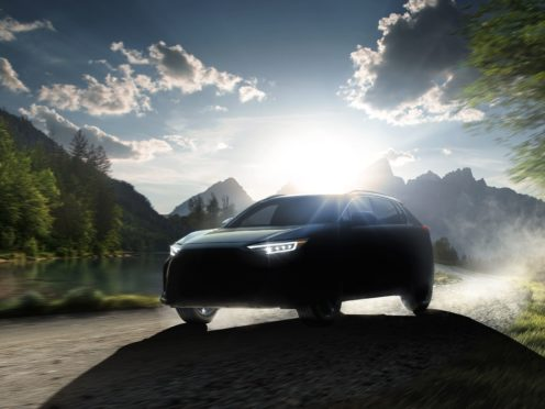 The Solterra has been jointly developed with Toyota